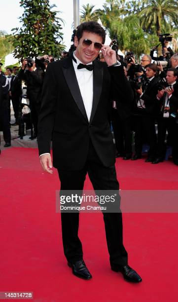 Patrick Bruel attends the 'Mud' Premiere during the 65th Annual Cannes Film Festival at Palais des Festivals on May 26 2012 in Cannes France