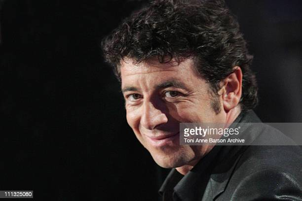 Patrick Bruel during FRANCE2 Television Show 'Tenue de Soiree' Live from Cannes at Palm Beach in Cannes France