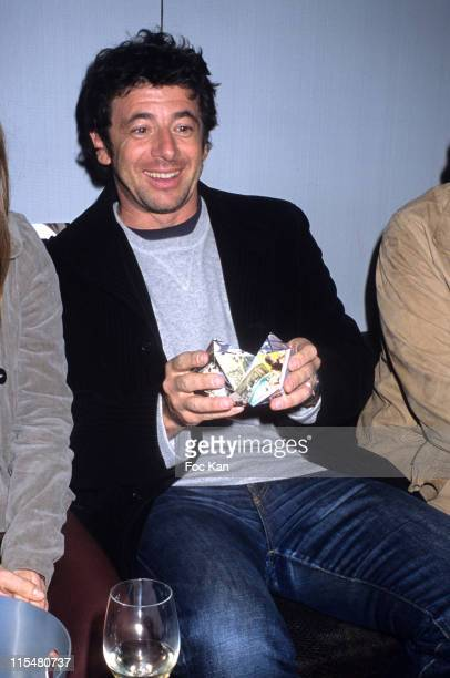 Patrick Bruel during Huvafen Fushi Hotel CD Compilation Launch Party at VIP Room in Paris France