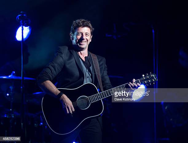 Patrick Bruel performs in concert at Beacon Theatre on November 1 2014 in New York City
