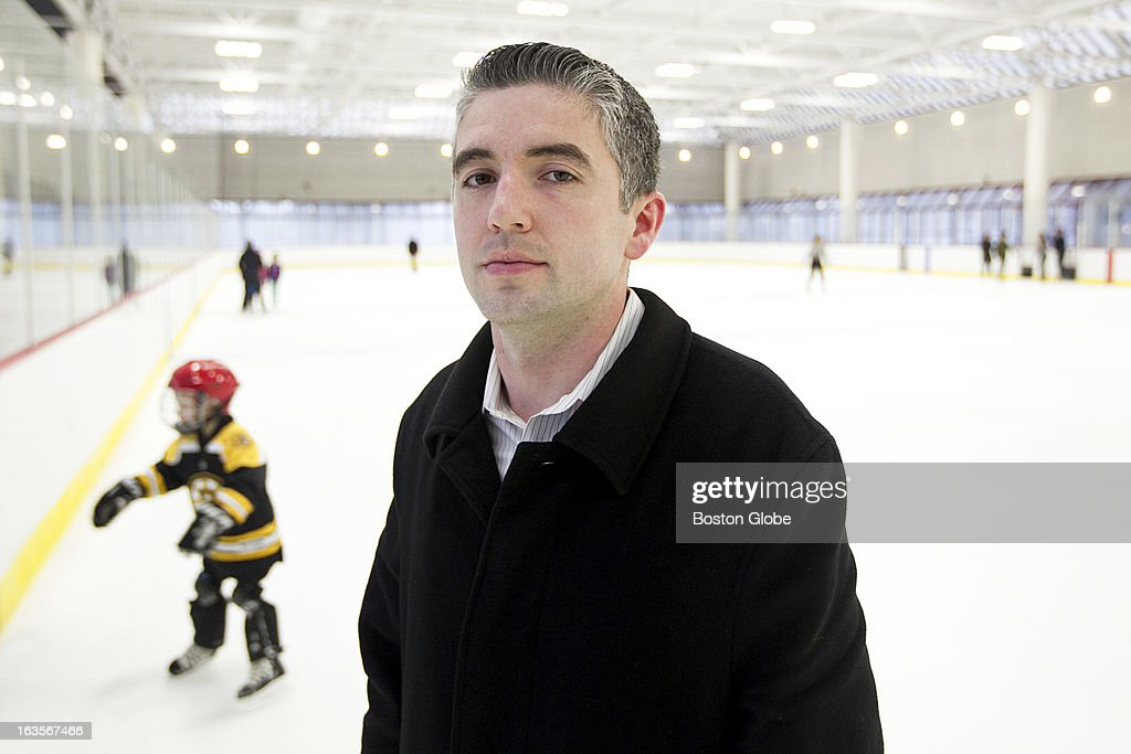 Patrick Burke is a recruiter for the Philadelphia Flyers and co-founder of an organization called You Can Play, which fights homophobia in professional sports. He is photographed at Steriti Rink in the North End of Boston, Mass. on Tuesday, Dec. 4, 2012.