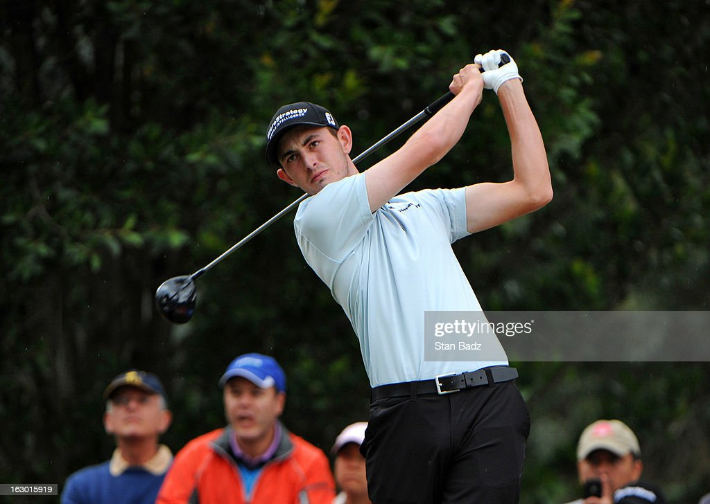 <a gi-track='captionPersonalityLinkClicked' href=/galleries/search?phrase=Patrick+Cantlay&family=editorial&specificpeople=7036378 ng-click='$event.stopPropagation()'>Patrick Cantlay</a> hits a drive on seventh hole during the final round of the Colombia Championship at Country Club de Bogota on March 3, 2013 in Bogota, Colombia.
