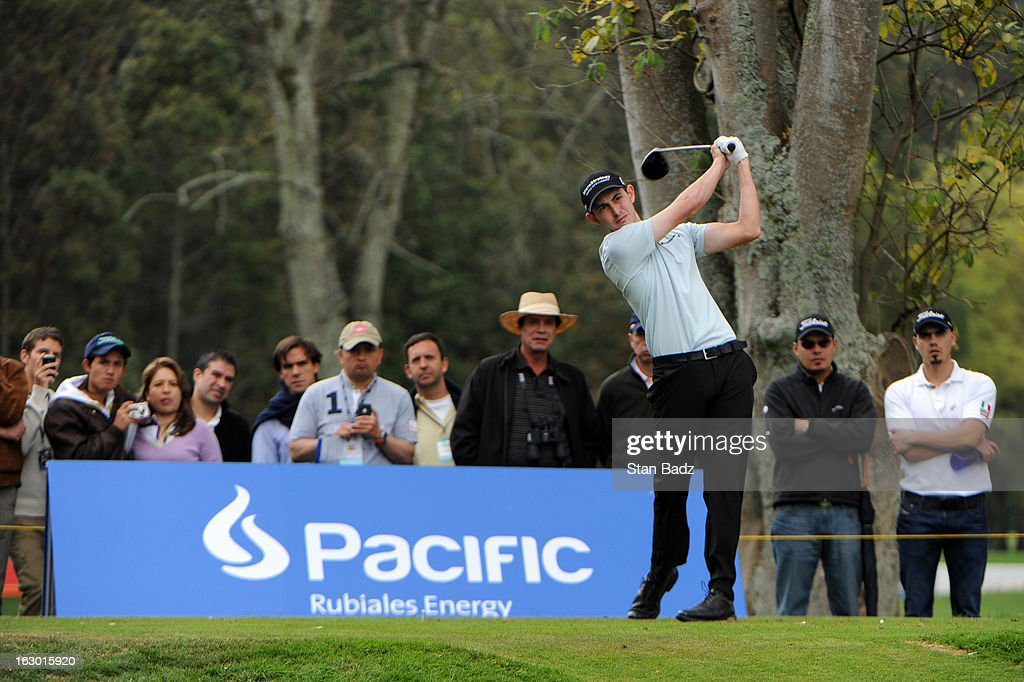 Patrick Cantlay hits a drive on the sixth hole during the final round of the Colombia Championship at Country Club de Bogota on March 3, 2013 in Bogota, Colombia.