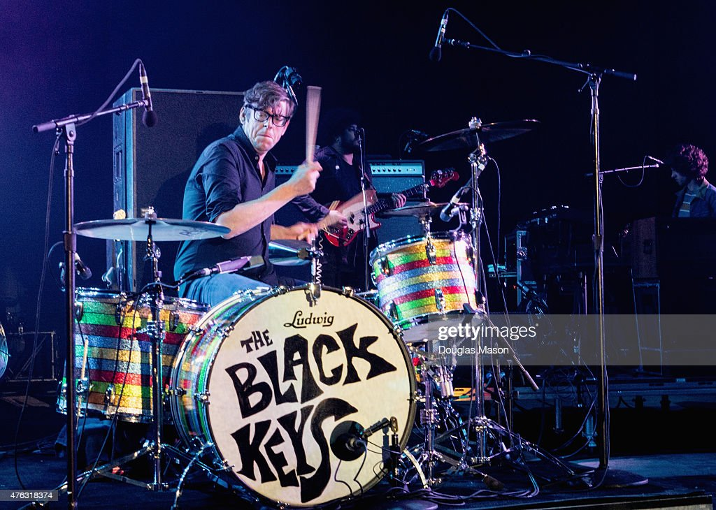 <a gi-track='captionPersonalityLinkClicked' href=/galleries/search?phrase=Patrick+Carney&family=editorial&specificpeople=2234034 ng-click='$event.stopPropagation()'>Patrick Carney</a> of The Black Keys performs during Mountain Jam 2015 at Hunter Mountain on June 6, 2015 in Hunter, New York.