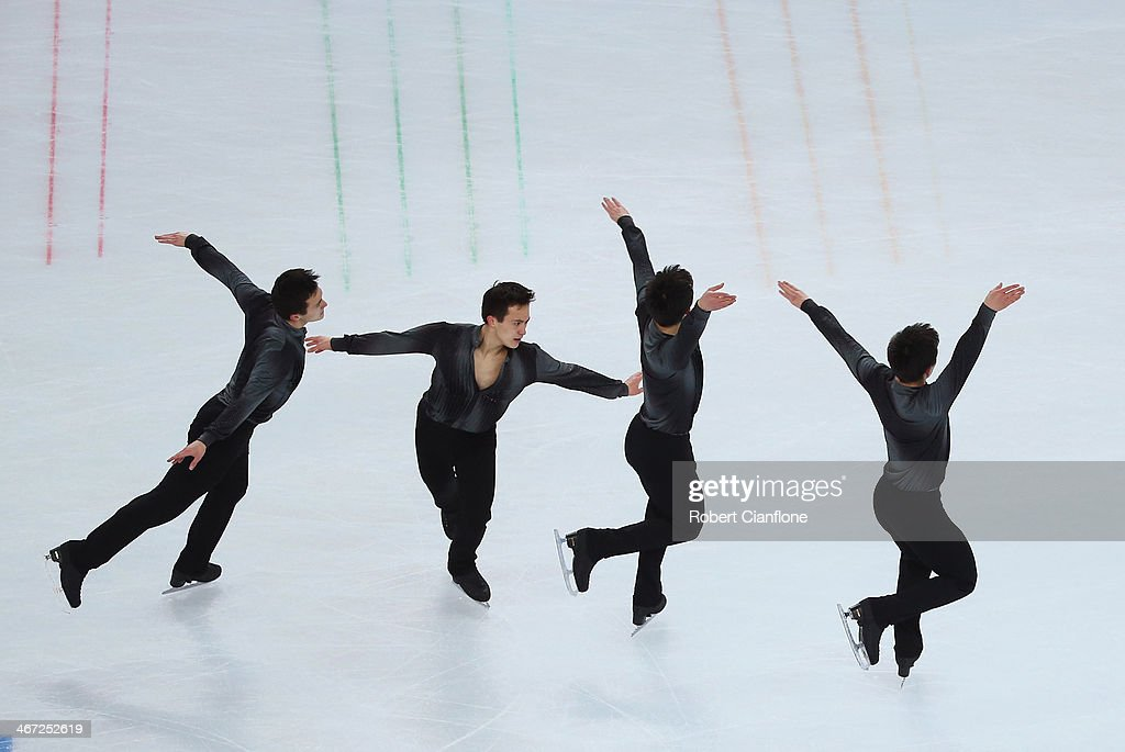 Patrick Chan of Canada competes in the Figure Skating Men's Short Program during the Sochi 2014 Winter Olympics at Iceberg Skating Palace on February 6, 2014 in Sochi, Russia.