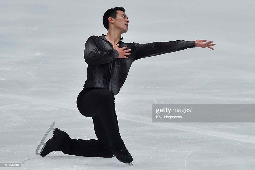 Patrick Chan of Canada competes in the Men's Singles Free Skating during the Japan Open 2015 Figure Skating at Saitama Super Arena on October 3, 2015 in Saitama, Japan.