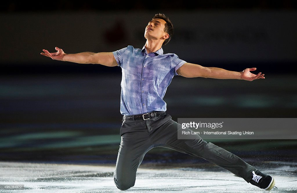 Patrick Chan of Canada performs during the Exhibition Gala on day three of Skate Canada International ISU Grand Prix of Figure Skating, November, 1, 2015 at ENMAX Centre in Lethbridge, Alberta, Canada.