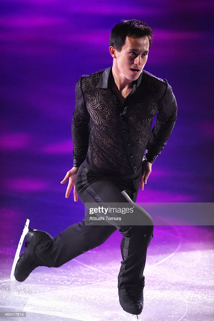 Patrick Chan of Canada performs his routine during THE ICE 2014 at the White Ring on July 19, 2014 in Nagano, Japan.