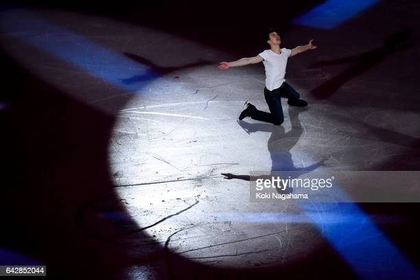 Patrick Chan of Canada performs in the Exhibition program during ISU Four Continents Figure Skating Championships Gangneung Test Event For...