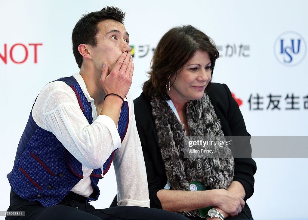 Patrick Chan of Canada reacts after his performance in the Mens Free Skating during the Grand Prix of Figure Skating Final 2012 at the Iceberg Skating Palace on December 8, 2012 in Sochi, Russia.