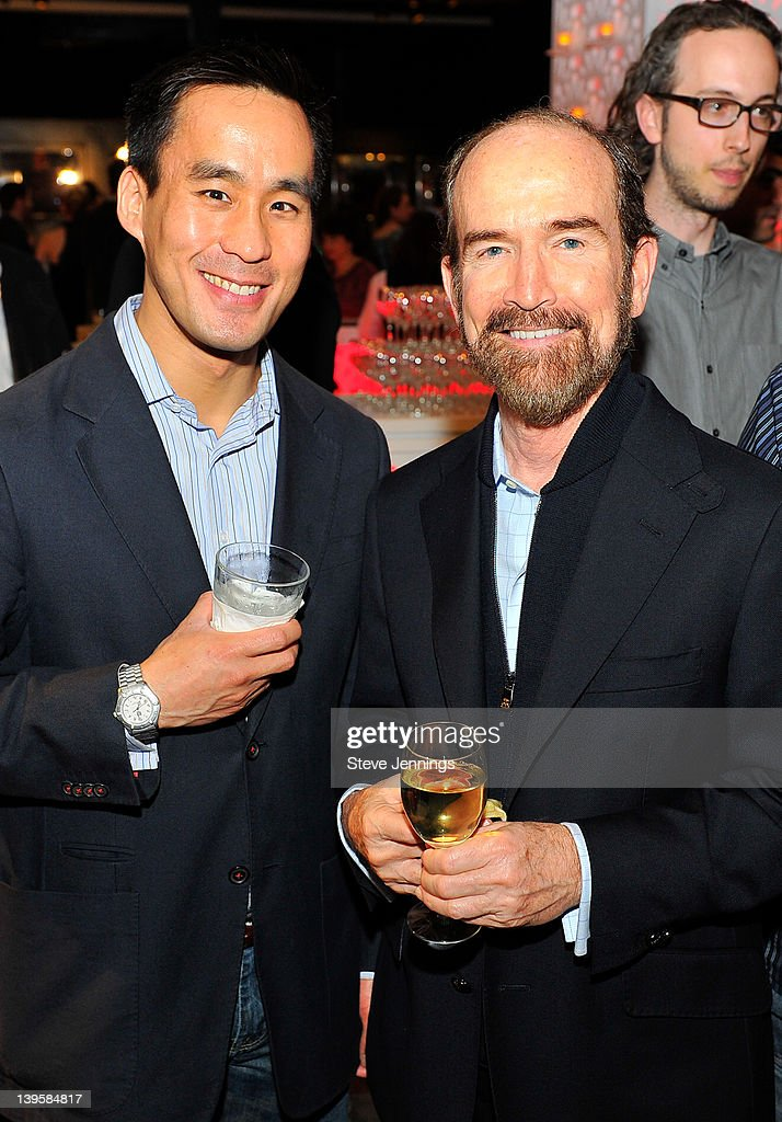 Patrick Chung and Forrest Faskett (L-R) attend the 3rd Annual TechFellow Awards at SF MOMA on February 22, 2012 in San Francisco, California.