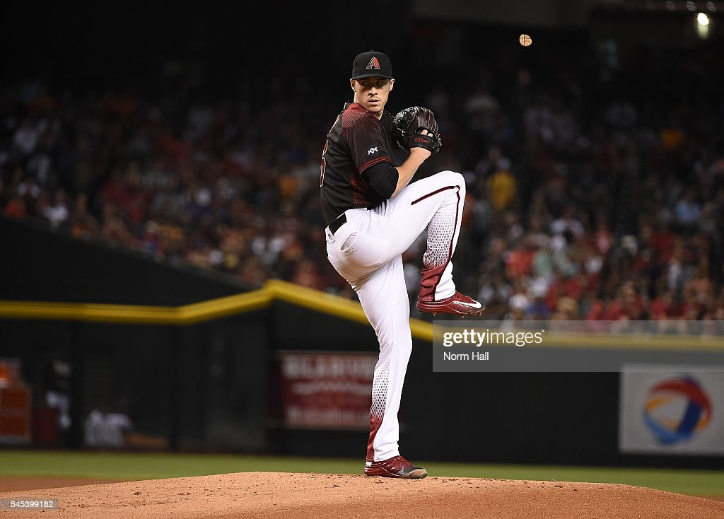 Patrick Corbin of the Arizona Diamondbacks delivers a pitch against the San Francisco Giants at Chase Field on July 2 2016 in Phoenix Arizona