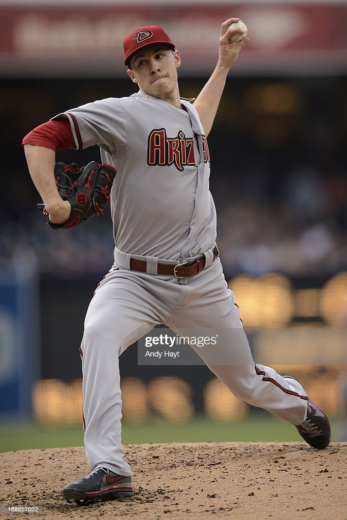 Patrick Corbin #46 of the Arizona Diamondbacks pitches against the San Diego Padres at Petco Park on May 4, 2013 in San Diego, California.