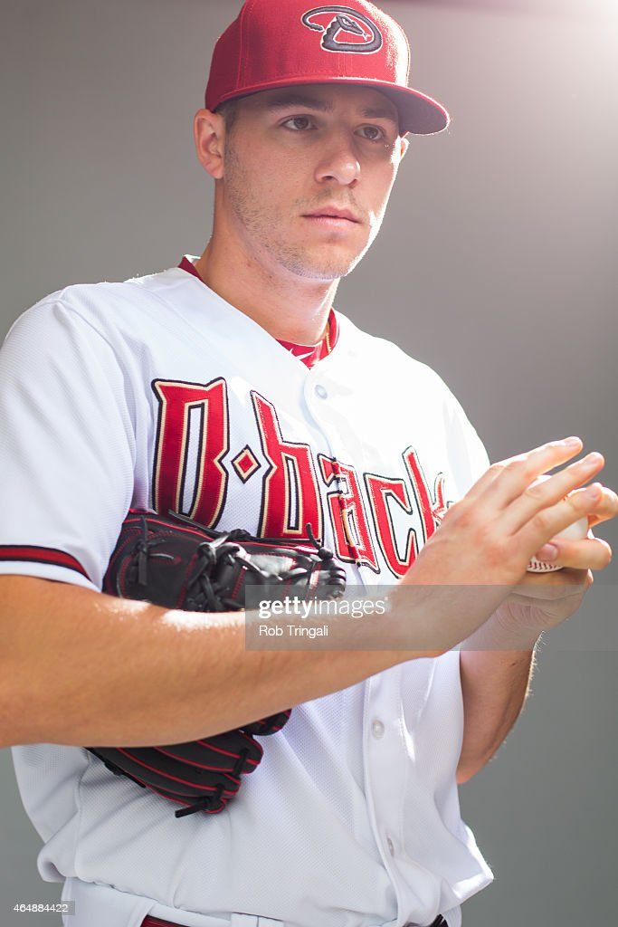 Patrick Corbin #46 of the Arizona Diamondbacks poses during photo day at Salt River Fields at Talking Stick on March 1, 2015 in Scottsdale, Arizona.