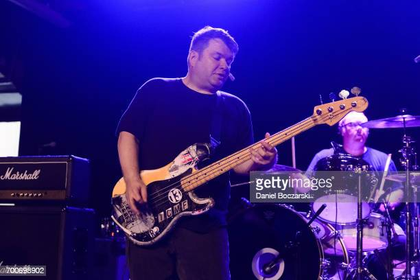 Patrick Costello of Dillinger Four performs at House of Vans Chicago on June 22 2017 in Chicago Illinois