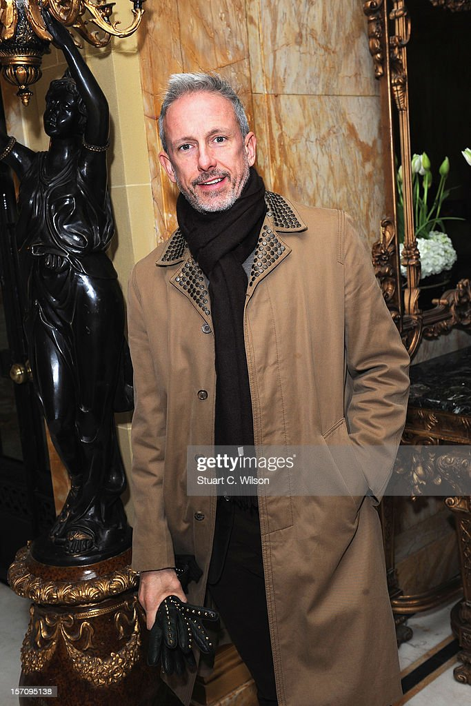 Patrick Cox attends day two of the-miumiu-london, a temporary women's club at Cafe Royal on November 28, 2012 in London, England.
