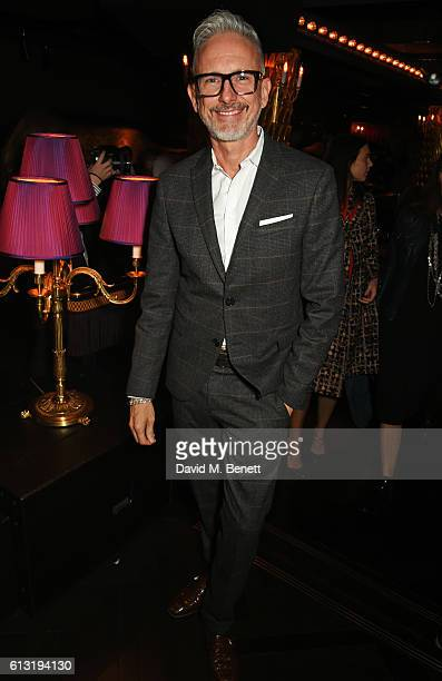 Patrick Cox attends the Moncler 'Freeze For Frieze' Dinner Party at the Moncler Bond Street Boutique on October 7 2016 in London United Kingdom