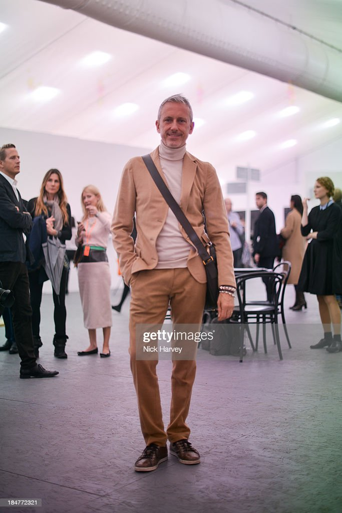 Patrick Cox attends the private view for Frieze on October 16, 2013 in London, England.