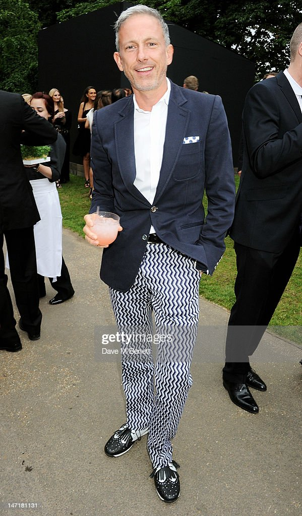 Patrick Cox attends The Serpentine Gallery Summer Party sponsored by Leon Max at The Serpentine Gallery on June 26, 2012 in London, England.