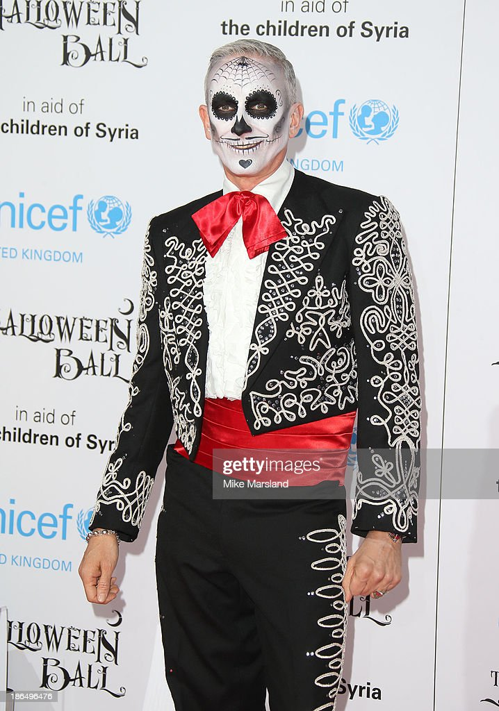 Patrick Cox attends The UNICEF Halloween Ball at One Mayfair on October 31, 2013 in London, England.