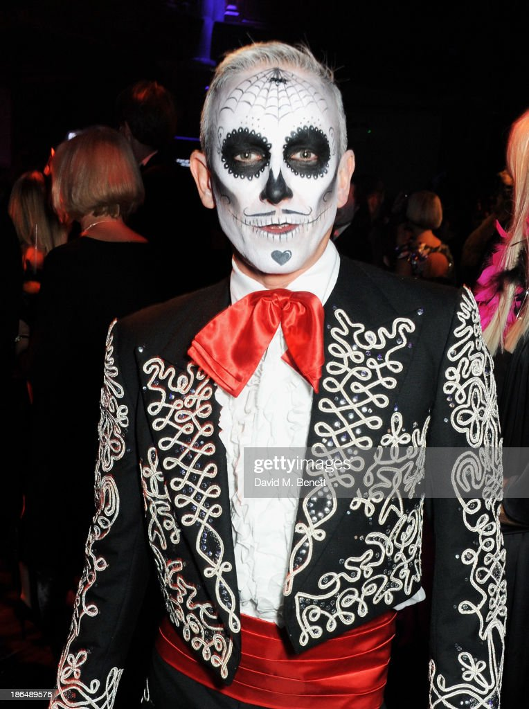 Patrick Cox attends the UNICEF UK Halloween Ball hosted by Jemima Khan, raising vital funds for UNICEF's work for children affected by the current Syria crisis, at One Mayfair on October 31, 2013 in London, England. All money raised for Unicef from today - and for the next three months - will be matched pound for pound by the UK Government to help the children of Syria. Text 'Syria' to 70007 to give £5 to help UNICEF reach even more children caught up in the crisis.