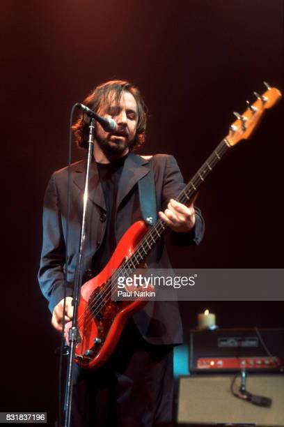 Patrick Dahlheimer of American alternative rock band Live performs at the Riviera Theater in Chicago Illinois October 3 1994