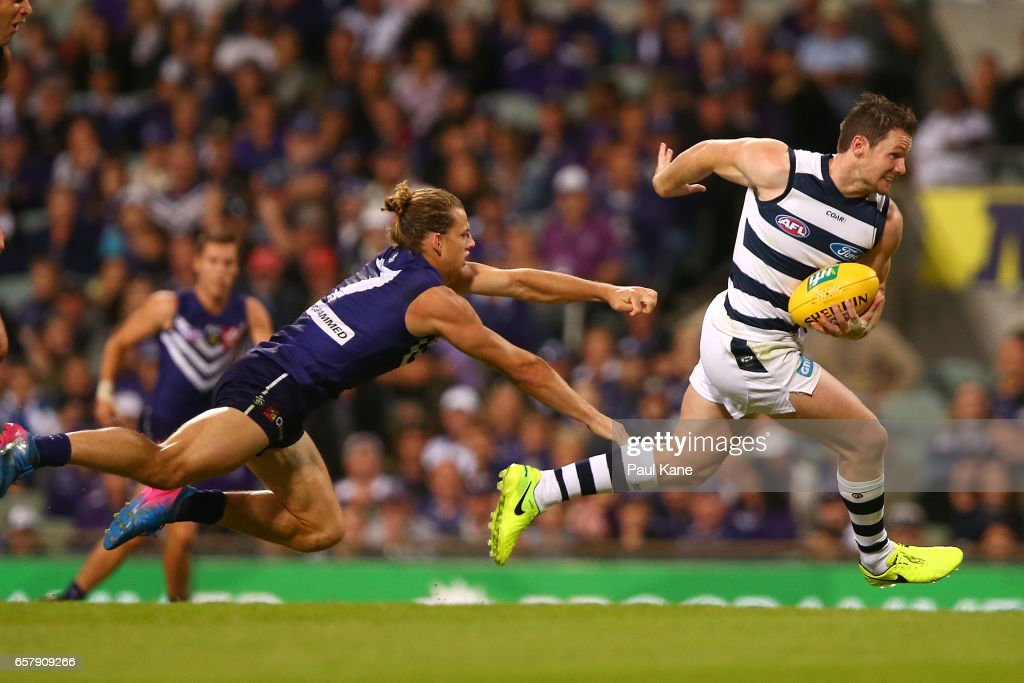 AFL Rd 1 - Fremantle v Geelong