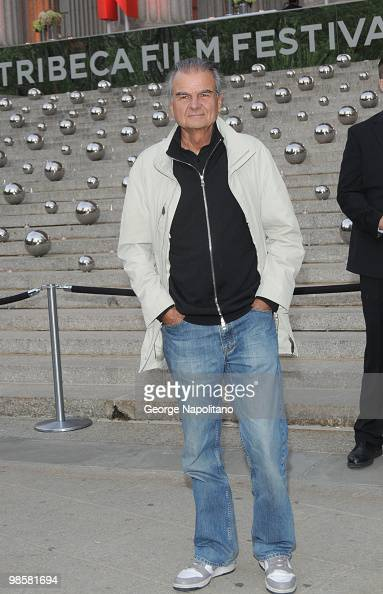 Patrick Demarchelier arrives at New York State Supreme Court for the Vanity Fair Party during the 2010 Tribeca Film Festival on April 20 2010 in New...