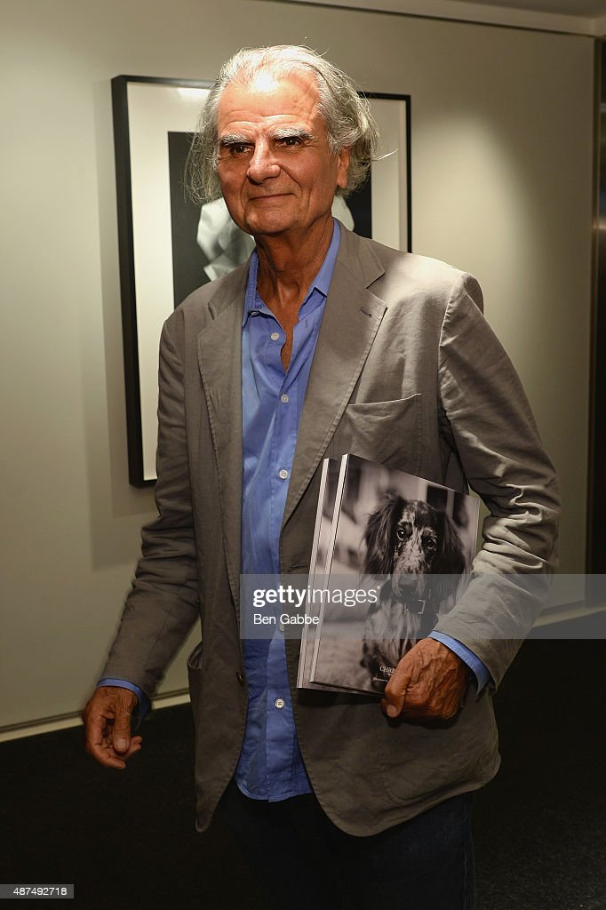 Patrick Demarchelier attends the 'Patrick Demarchelier' special exhibition preview to celebrate NYFW The Shows for Spring 2016 at Christie's on...