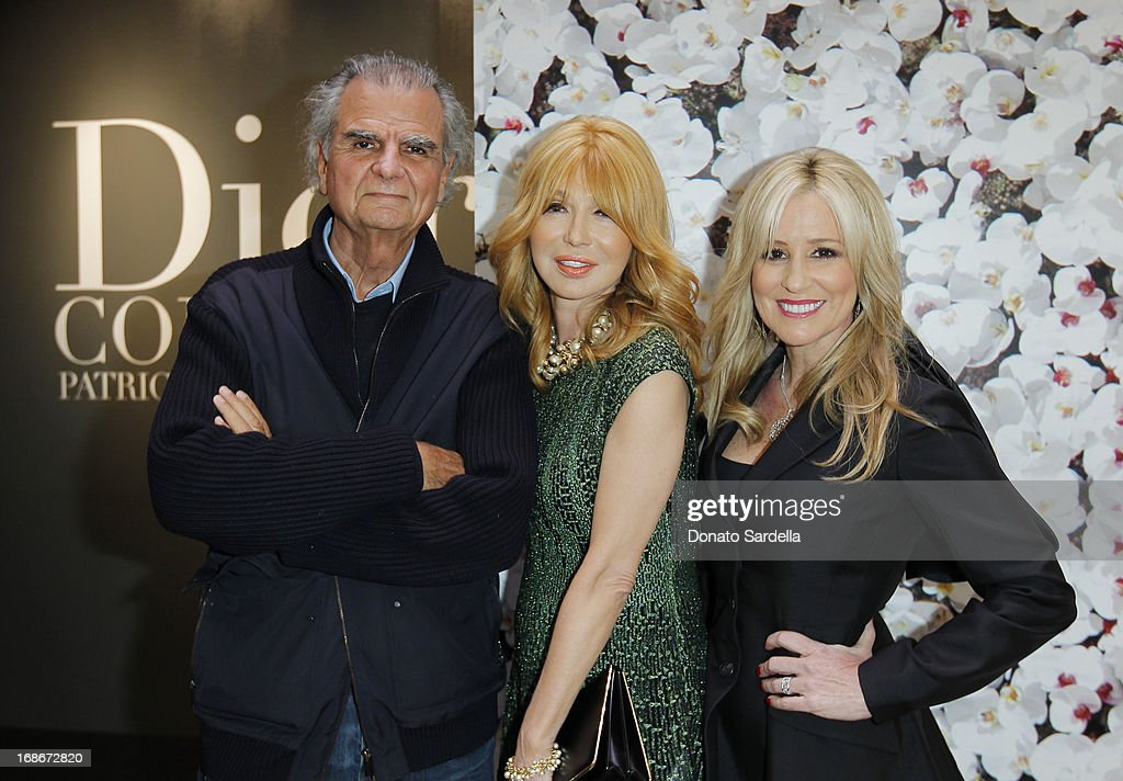 Patrick Demarchelier, Elizabeth Segerstrom, and Karen Watkins attend Dior celebrates the opening of Dior Couture Patrick Demarchelier Exhibition at the Dior store at South Coast Plaza May 10, 2013 in Costa Mesa, California.
