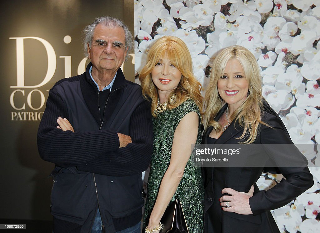 <a gi-track='captionPersonalityLinkClicked' href=/galleries/search?phrase=Patrick+Demarchelier&family=editorial&specificpeople=2118326 ng-click='$event.stopPropagation()'>Patrick Demarchelier</a>, Elizabeth Segerstrom and Karen Watkins attend Dior celebrates the opening of Dior Couture <a gi-track='captionPersonalityLinkClicked' href=/galleries/search?phrase=Patrick+Demarchelier&family=editorial&specificpeople=2118326 ng-click='$event.stopPropagation()'>Patrick Demarchelier</a> Exhibition at the Dior store at South Coast Plaza May 10, 2013 in Costa Mesa, California.