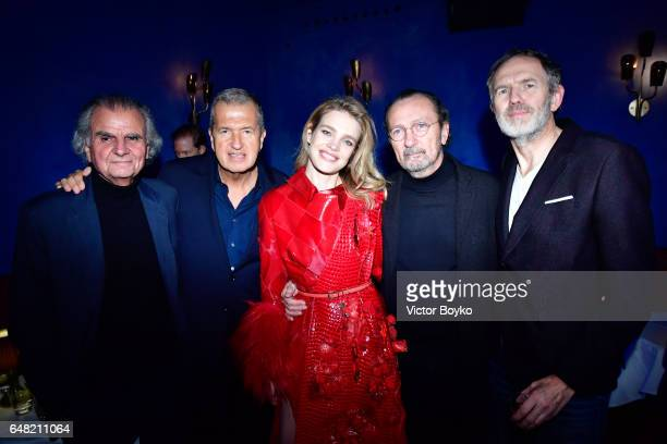 Patrick Demarchelier Mario Testino Natalia Vodianova Paolo Roversi and Anton Corbijn attend Natalia Vodianova's birthday Vogue Cabaret Party as part...