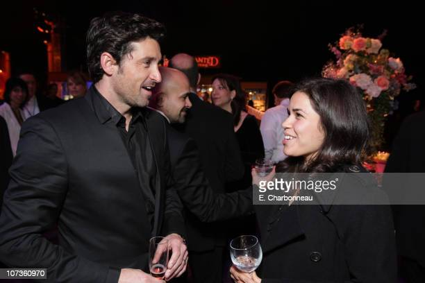 Patrick Dempsey and America Ferrera at the World Premiere of Walt Disney Pictures' 'ENCHANTED' at the El Capitan Theatre on November 17 2007 in...