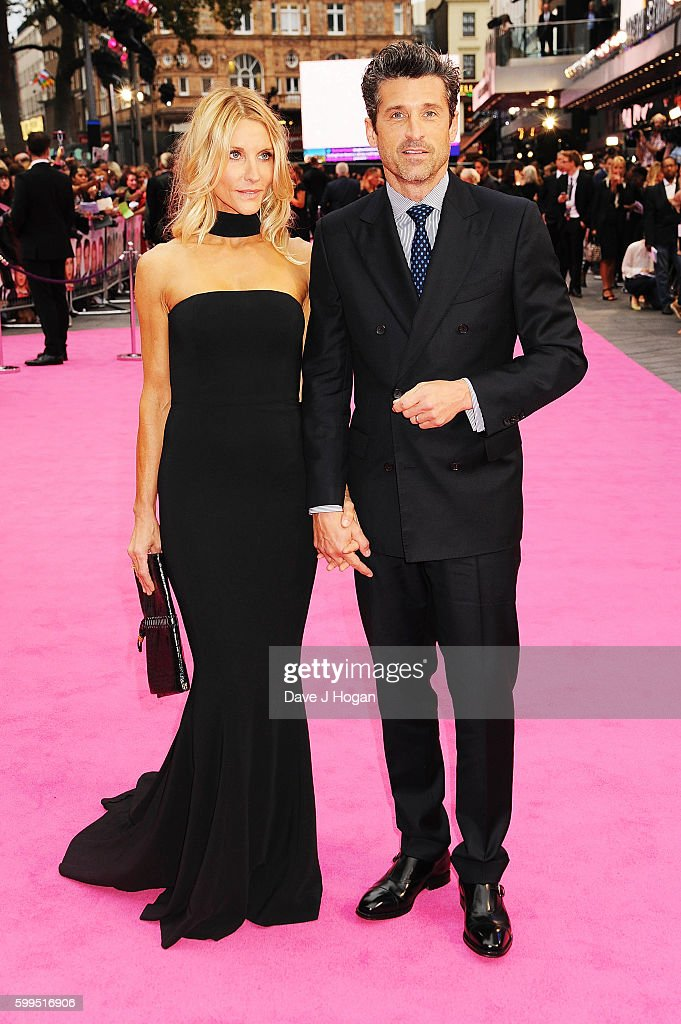 patrick-dempsey-and-jillian-fink-arrive-for-the-world-premiere-of-picture-id599516906