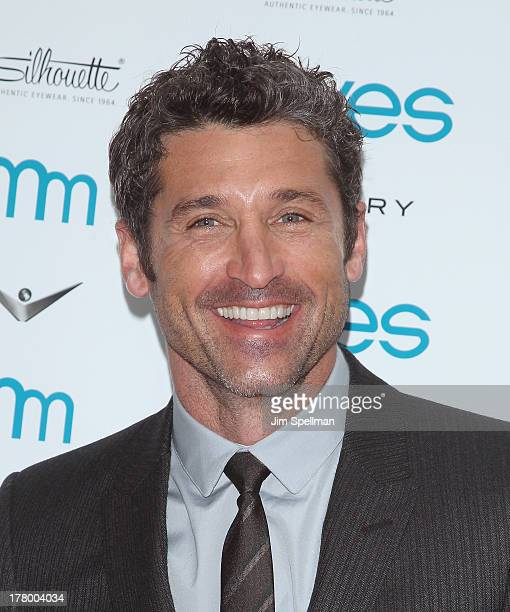 Patrick Dempsey attends Moves' 2013 Fall Fashion Issue Cover Party on August 26 2013 in New York City