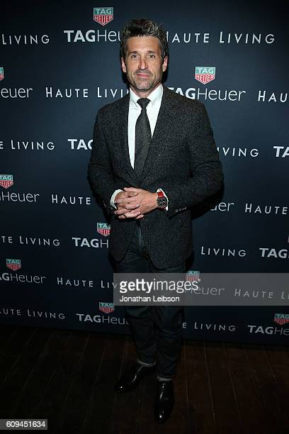 Patrick Dempsey attends the Haute Living Cover Launch With Patrick Dempsey And Tag Heuer At Nobu Malibu at Nobu Malibu on September 20 2016 in Malibu...