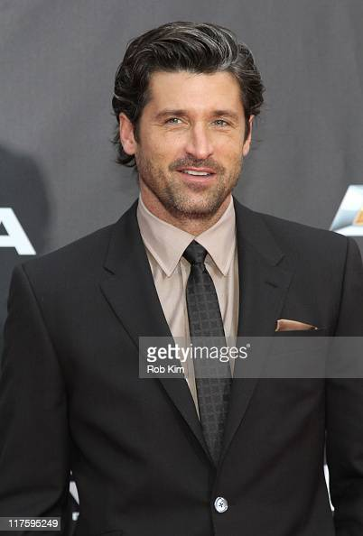 Patrick Dempsey attends the 'Transformers Dark Of The Moon' premiere in Times Square on June 28 2011 in New York City