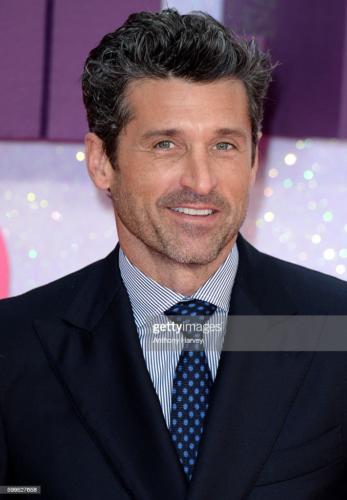 Patrick Dempsey attends the World premiere of 'Bridget Jones's Baby' at Odeon Leicester Square on September 5, 2016 in London, England.