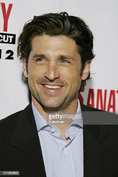 Patrick Dempsey during Grey's Anatomy DVD Season 2 Release Party at Social Hollywood in Los Angeles CA United States