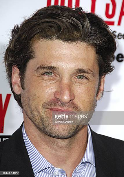 Patrick Dempsey during Grey's Anatomy The Complete Second Season Uncut DVD Launch Event Arrivals at Social Hollywood in Los Angeles California United...