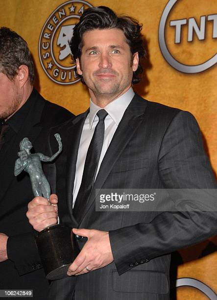 Patrick Dempsey of 'Grey's Anatomy' winner Outstanding Performance by an Ensemble in a Drama Series
