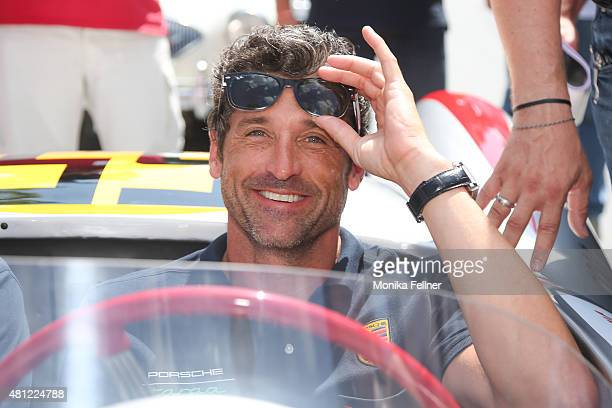 Patrick Dempsey participates at the Ennstal Classic 2015 on July 18 2015 in Groebming Austria