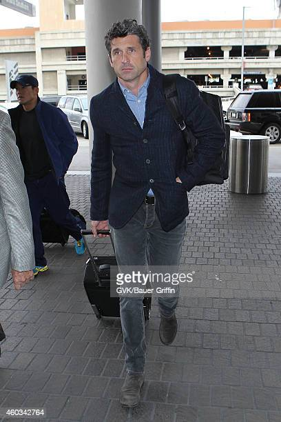 Patrick Dempsey seen at LAX on December 11 2014 in Los Angeles California