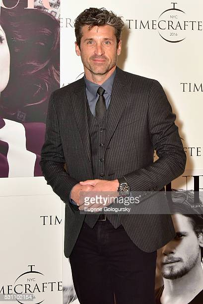 Patrick Demsey attends the TAG Heuer At TimeCrafters NYC 2016 on May 12 2016 in New York City