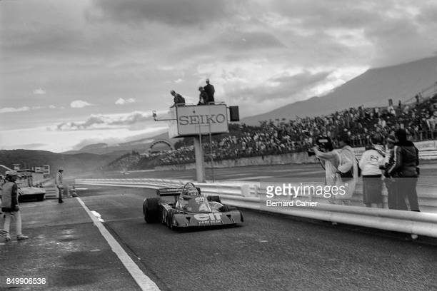 Patrick Depailler TyrrellFord P34 Grand Prix of Japan Fuji Speedway Oyama Japan October 24 1976