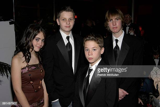 Patrick Droney and Bleak City Band attend A Night of Jeans and Gems Hosted by the National Hemophilia Foundation at Fashion Institute of Technology...