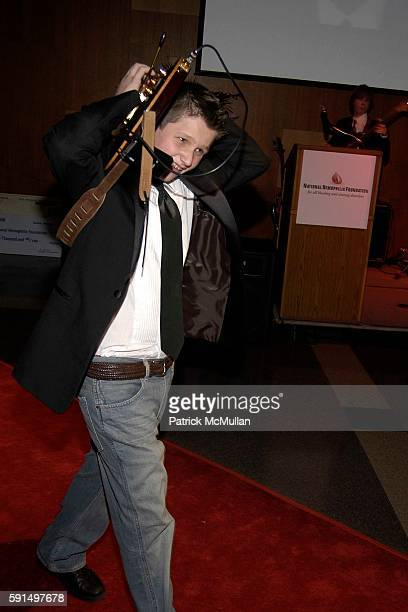 Patrick Droney attends A Night of Jeans and Gems Hosted by the National Hemophilia Foundation at Fashion Institute of Technology Grand Ballroom on...