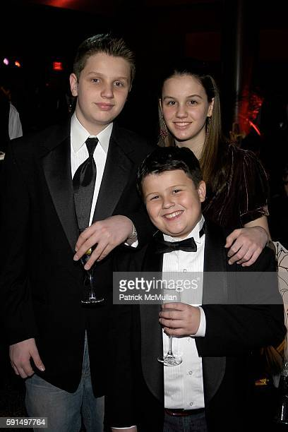 Patrick Droney Josephine Droney and attend A Night of Jeans and Gems Hosted by the National Hemophilia Foundation at Fashion Institute of Technology...