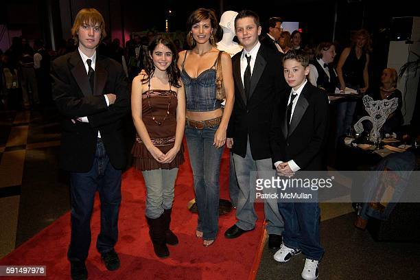 Patrick Droney Michelle Ray Smith and Bleak City Band attend A Night of Jeans and Gems Hosted by the National Hemophilia Foundation at Fashion...