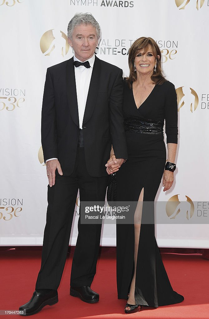 Patrick Duffy and Linda Gray attend the closing ceremony of the 53rd Monte Carlo TV Festival on June 13, 2013 in Monte-Carlo, Monaco.